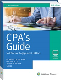 CPA's Guide to Effective Engagement Letters book